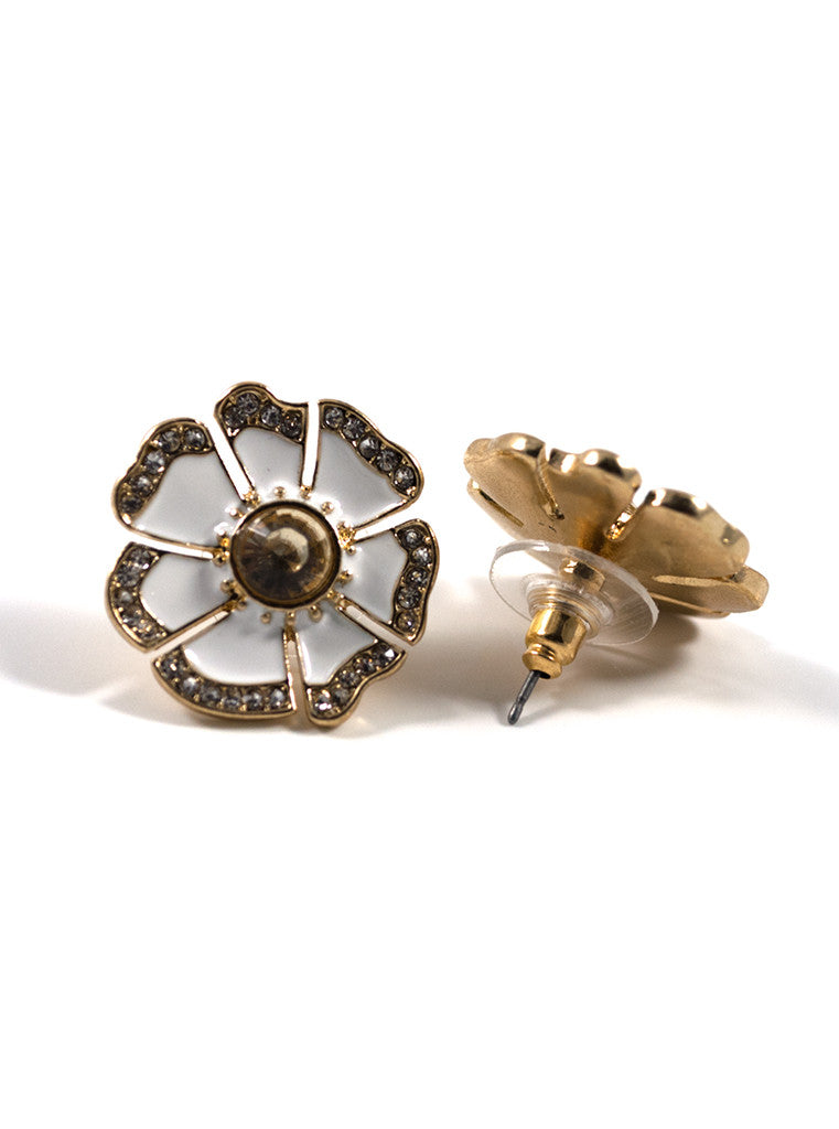 Blossom Flower Stud Earrings (3)