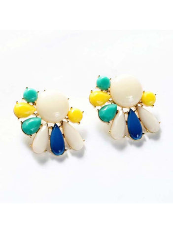 Flower Classic Stud Earrings