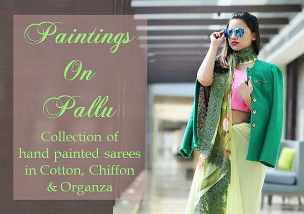 Paintings On Pallu
