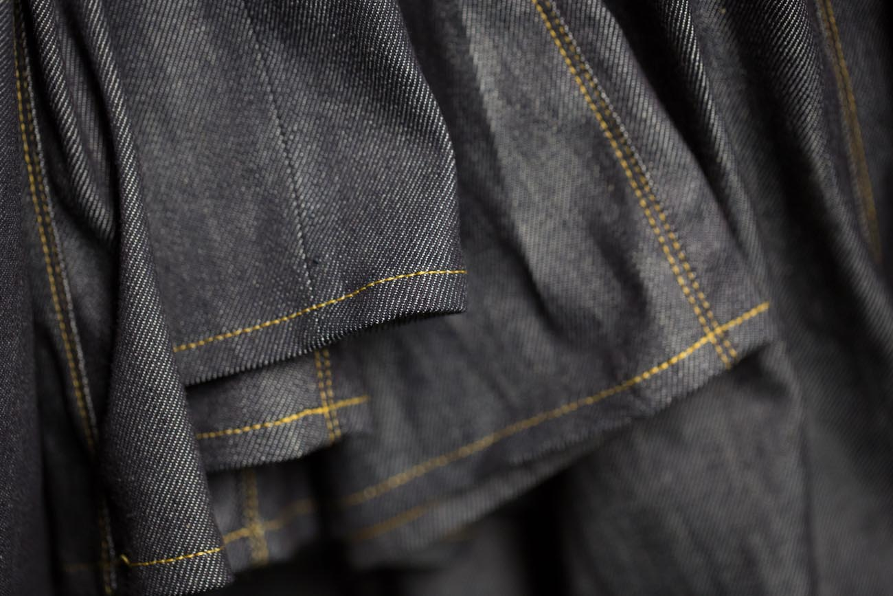 Men's Custom Denim — Indigo