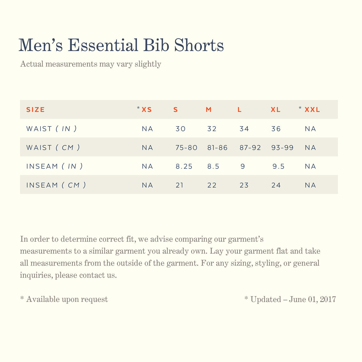 Men's Essential Bibshort — Team Fit — Dark Navy