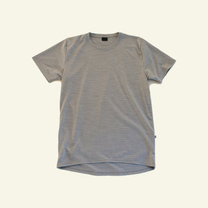 Women's Classic Base Tee — 65% Merino Blend — Grey