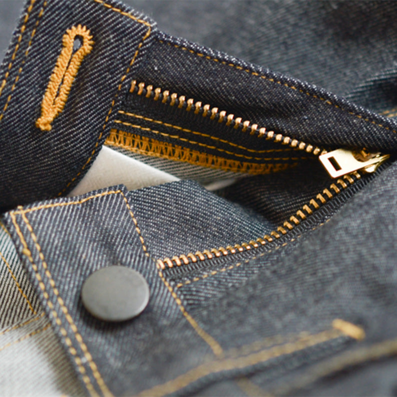 Men's Denim & Tee — Indigo — Core Pack