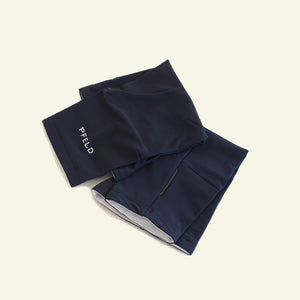 Essential Knee Warmer Samples — Roubaix Thermal — Dark Navy
