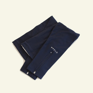 Essential leg Warmers — Roubaix Thermal — Dark Navy