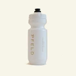 Water Bottle — 22 oz — White