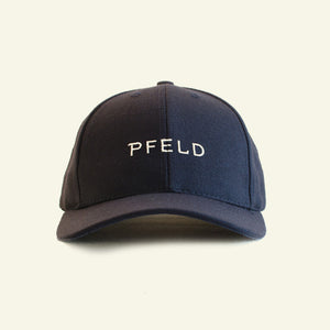 Podium Cap — Wool Blend — Dark Navy