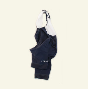 Women's Essential Bib short — Team Fit — Navy