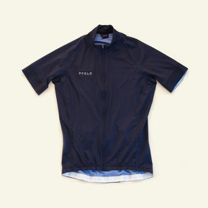 Men's Essential Jersey — Team Fit Samples — Dark Navy