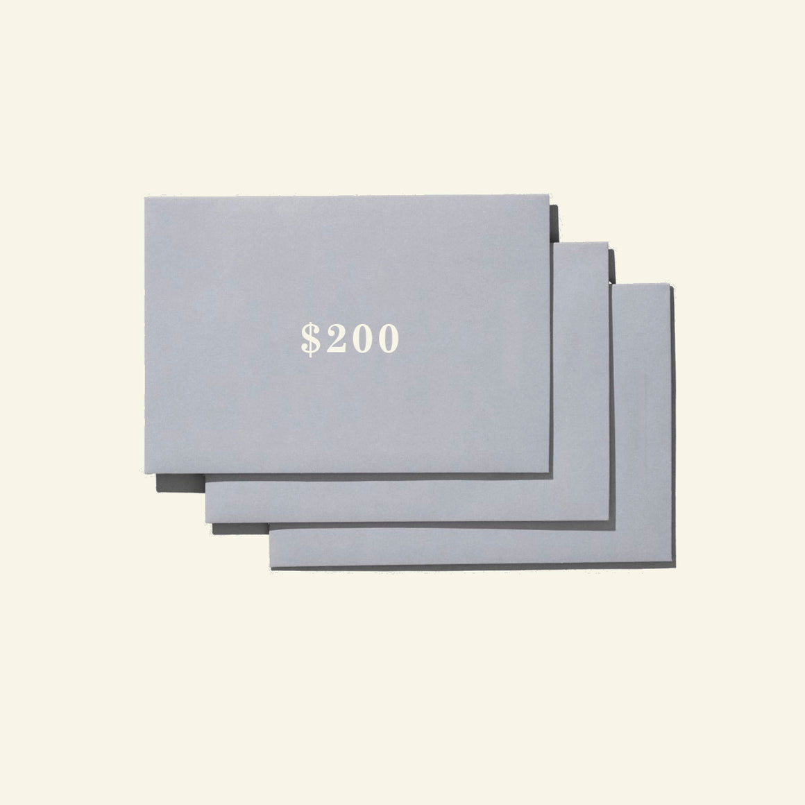 Gift Card — $200