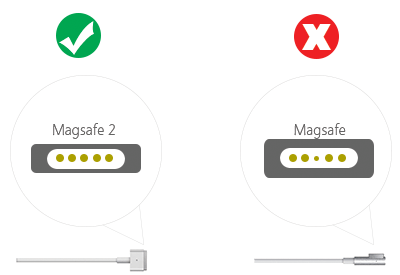 MagSafe vs MagSafe comparison