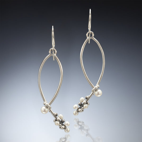 Pearl Bud Earrings - Kinzig Design Studios
