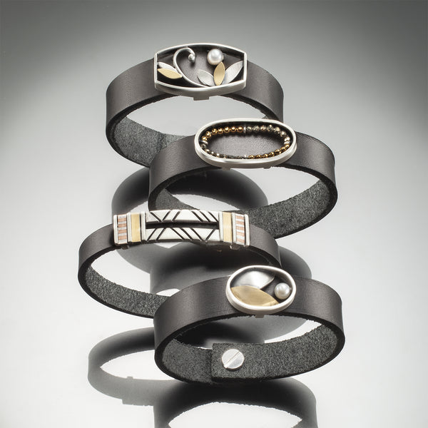 Leather Bracelets - Kinzig Design Studios