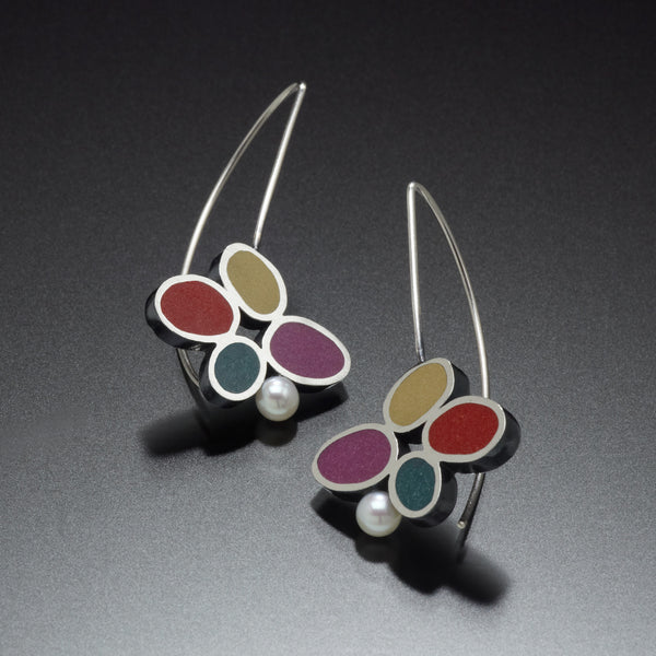 Four Circle Earrings - Kinzig Design Studios