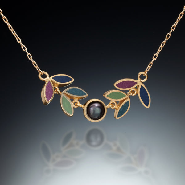 Four Leaf Necklace (gold) - Kinzig Design Studios
