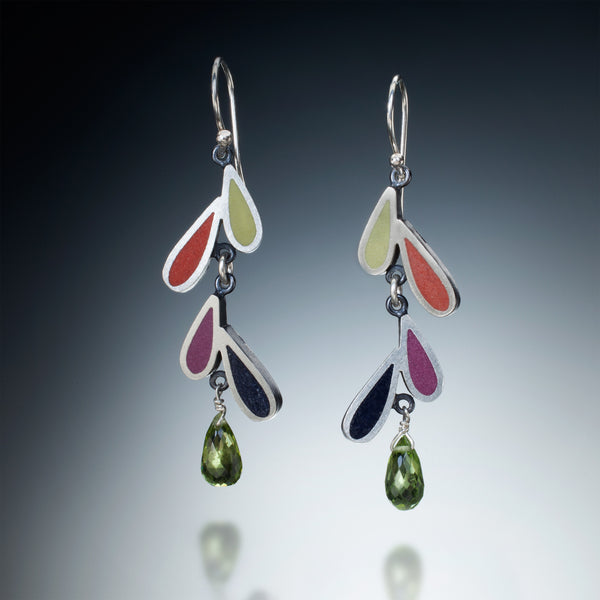 Four Petal Earrings - Kinzig Design Studios