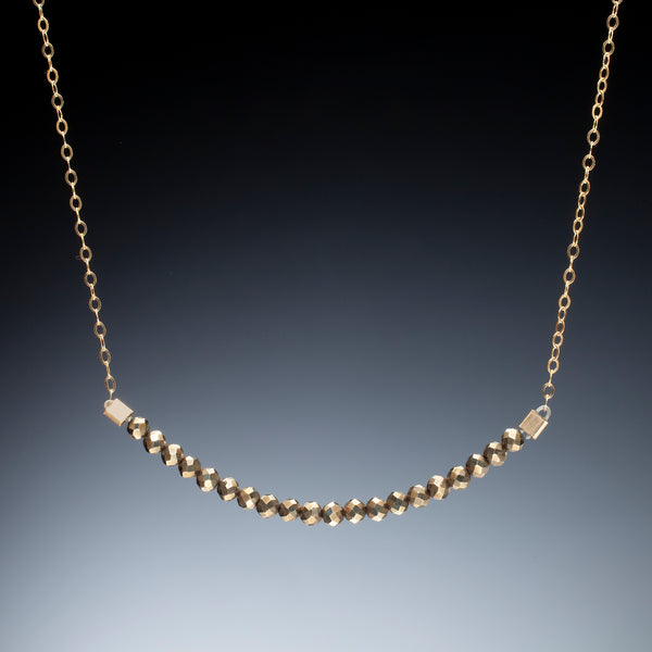 Bead Bar Necklace - Kinzig Design Studios