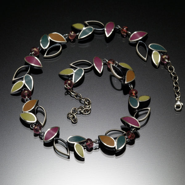 Leaf Necklace - Kinzig Design Studios