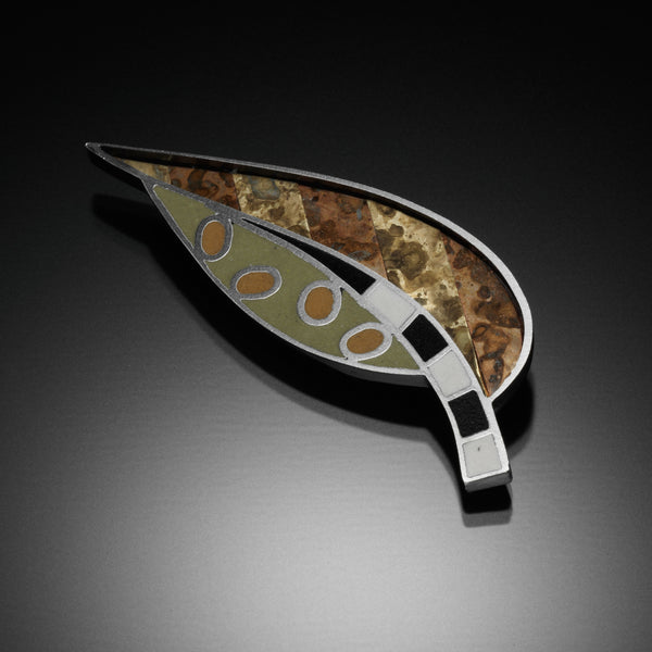 Leaf Brooch - Kinzig Design Studios