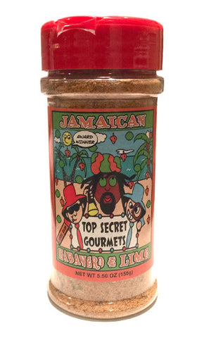 Jamaican Habanero and Lime • 5.5oz Bottle