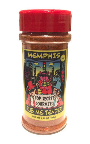 Memphis Rub Me Tender • 4.9oz Bottle