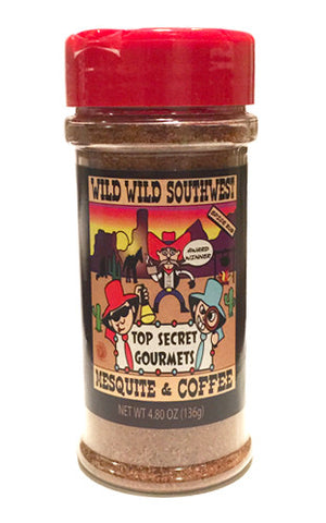 Wild Wild West Southwest Mesquite and Coffee • 4.8oz Bottle