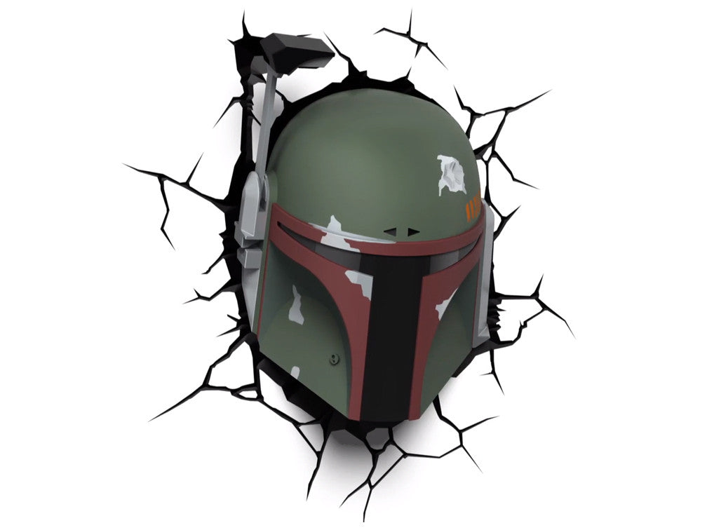 Lámpara Infantil Funny Light Boba Fett