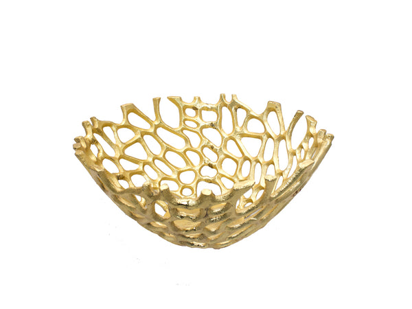 Bowl Decorativo Dorado Dorlan