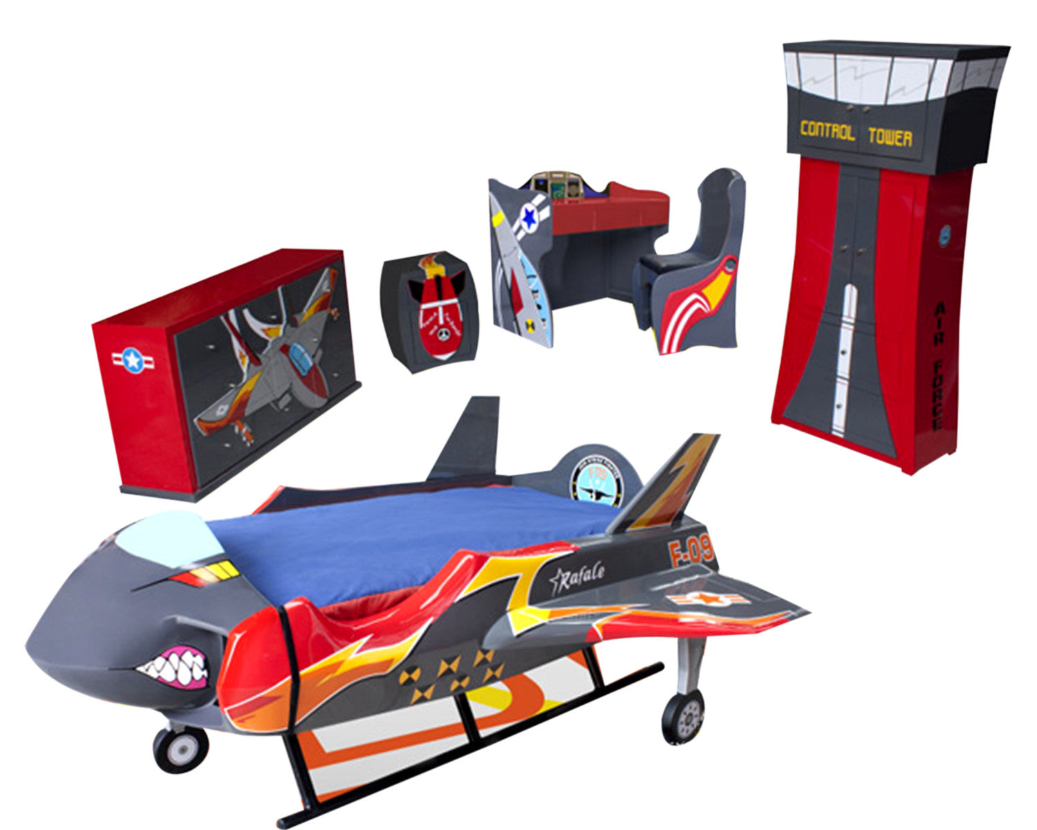 Cama Infantil Dreams Air Force