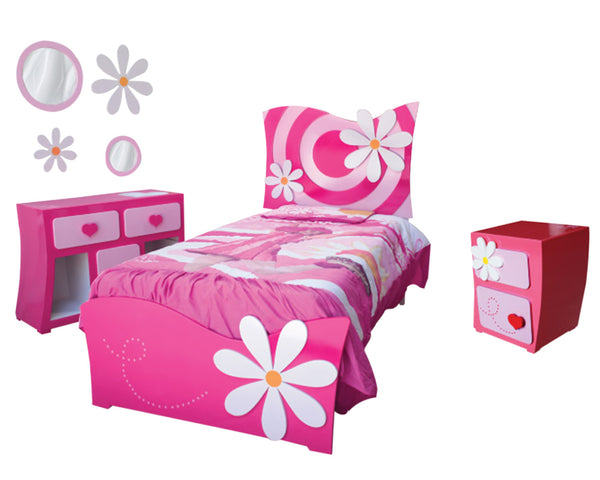 Cama Infantil Dreams Flowers