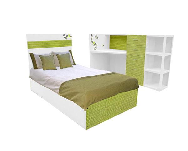 Cama Juvenil Dreams Green