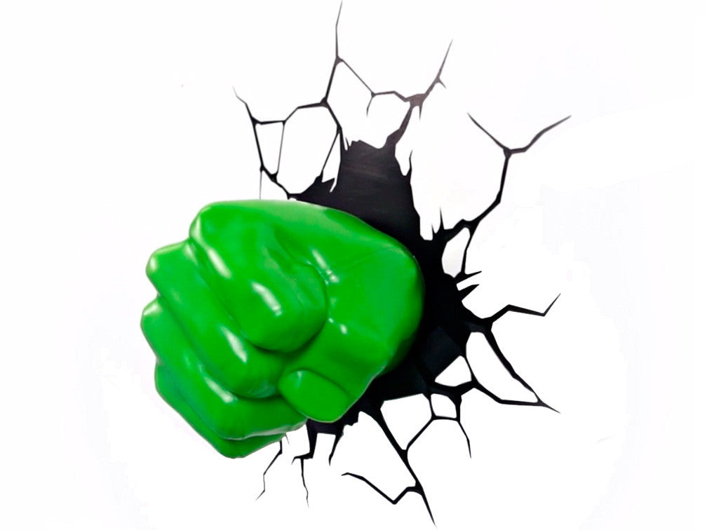 Lámpara Infantil Funny Light Hulk Fist