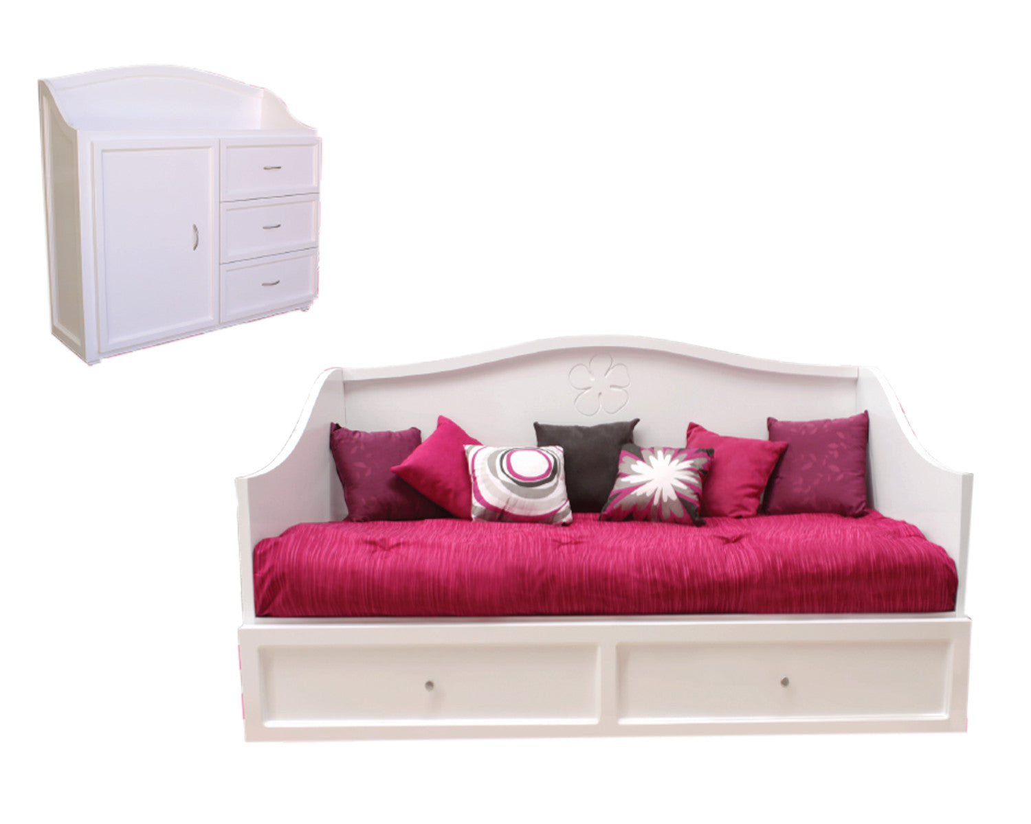 Rec mara individual dreams pink got muebles for Muebles recamaras monterrey