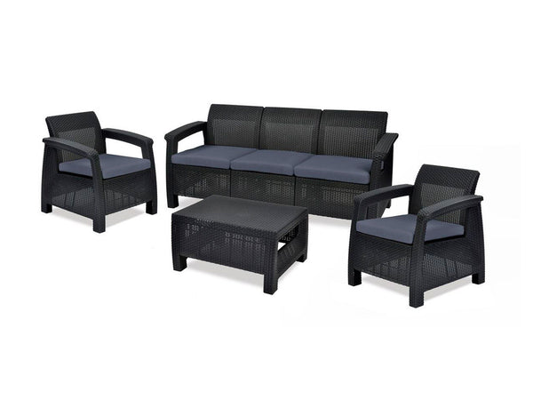 Salas para exterior got muebles for Mueblerias on line