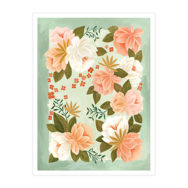 Palm Spring Poster Print