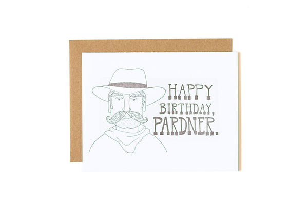 Happy Birthday Pardner