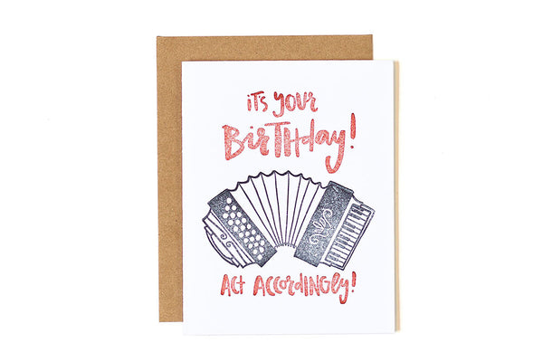 Accordion Birthday