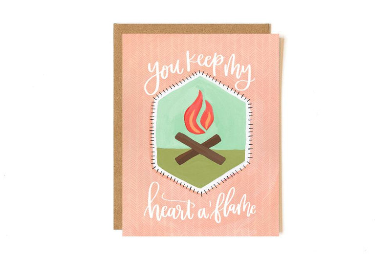 Heart A'flame Patch