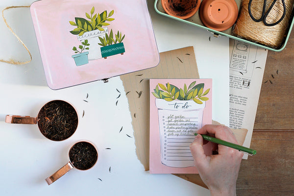 Plant To Do Notepad