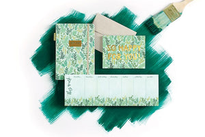 Mint Meadow Weekly Notepad