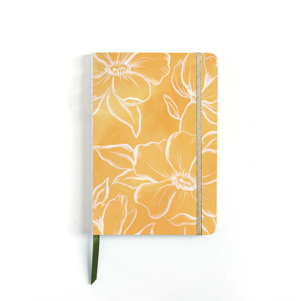 Golden Poppy Lined Journal