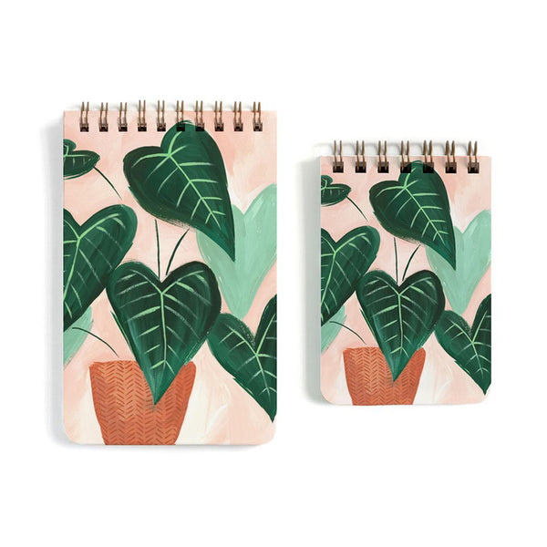 Green Leaf Notebook