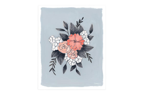 Floral Spray No. 2 Art Print