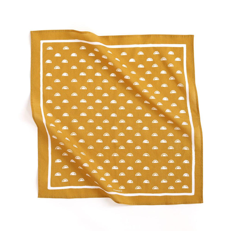 Gold Fan Bandana