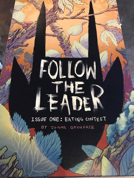 follow the leader issue one : eating contest by Jonas Goonface