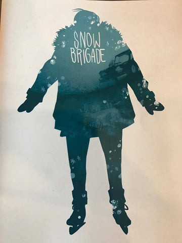 snow brigade comic book by Jonas Mcluggage
