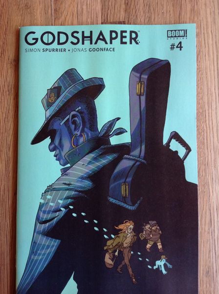 Godshaper: Issue #4