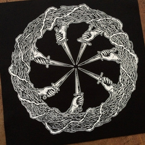 The Coven's Ring back patch