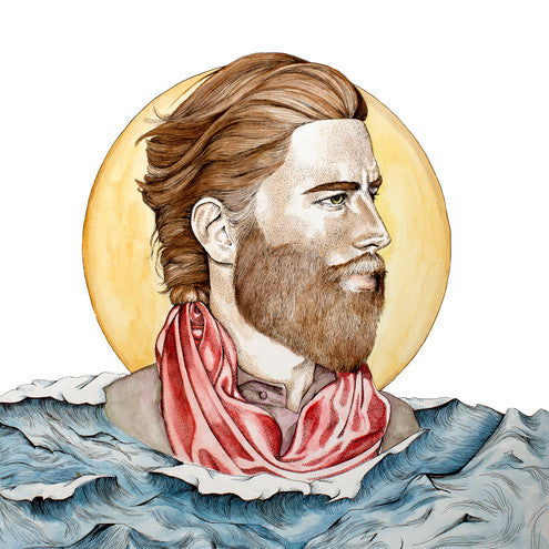 Savannah Graham Art Print : Sea Man