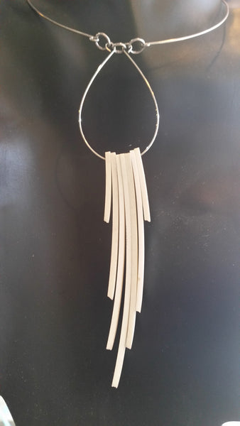 spirit fringe necklace